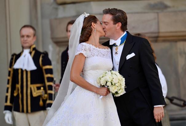 İsveç Prensesi Madeleine'nin Valentino Tasarımı Gelinliği
