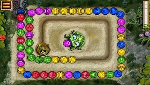 Zuma deluxe temple Free Android Game