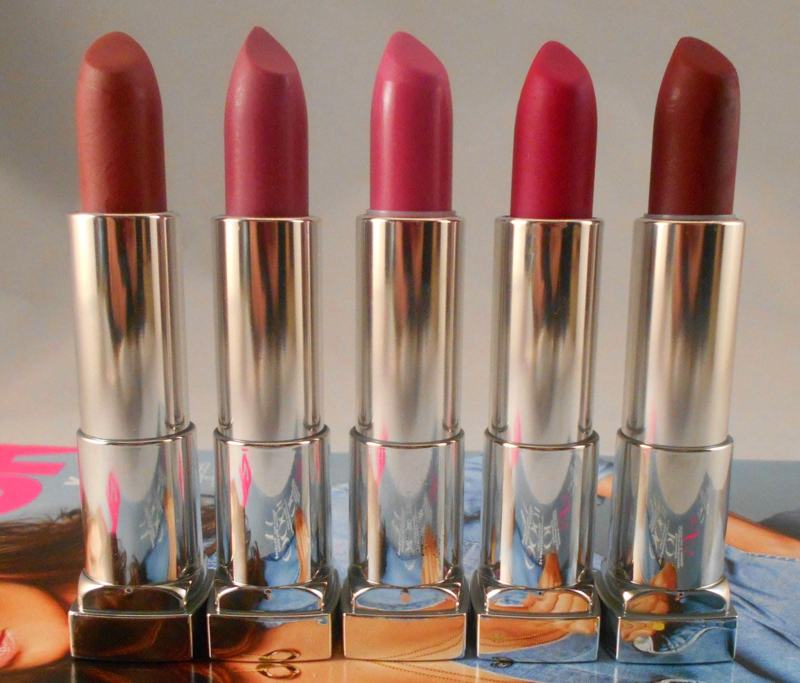 Maybelline Color Sensational Creamy Mattes Lipsticks