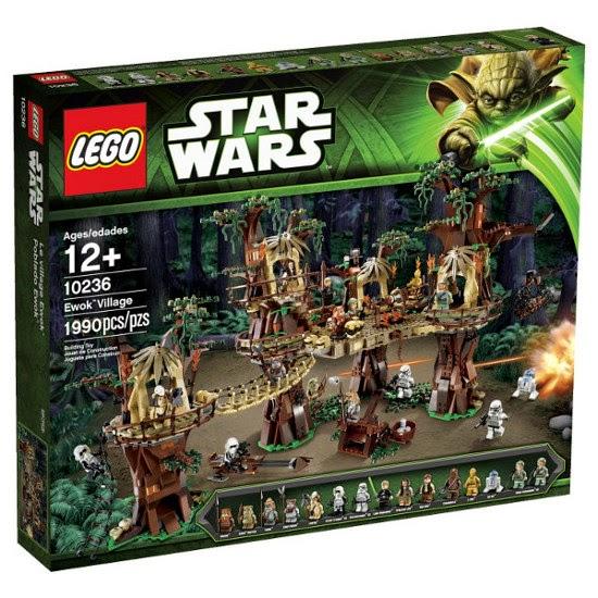 Toys lego star wars 10236 poblado ewok ewok village producto