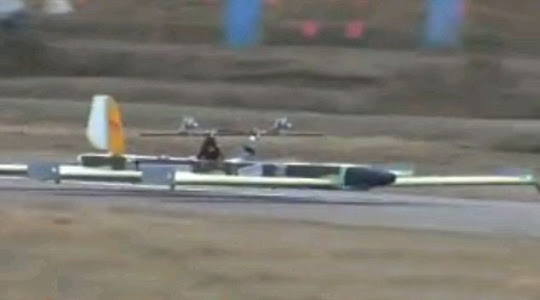 Kereta terbang buatan Yusuke - 03