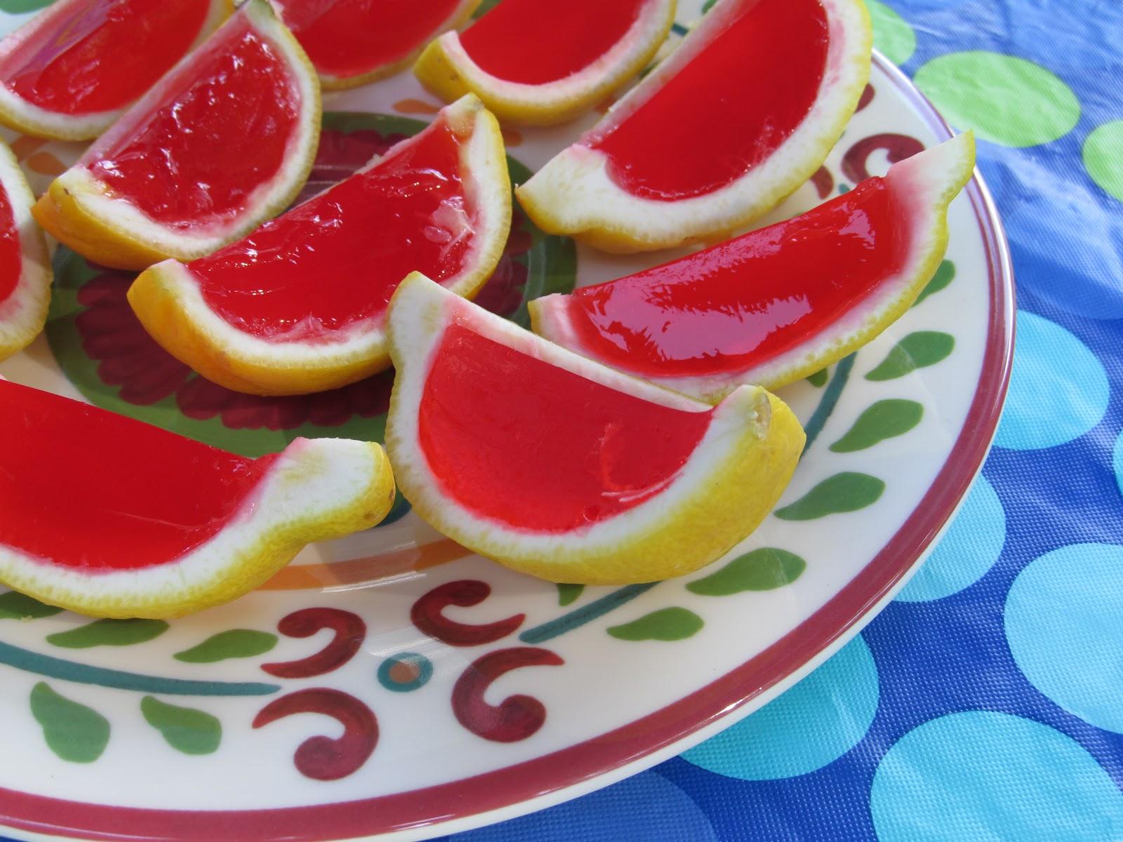 Slimmerpickings: Strawberry-Lemonade Jello Shots