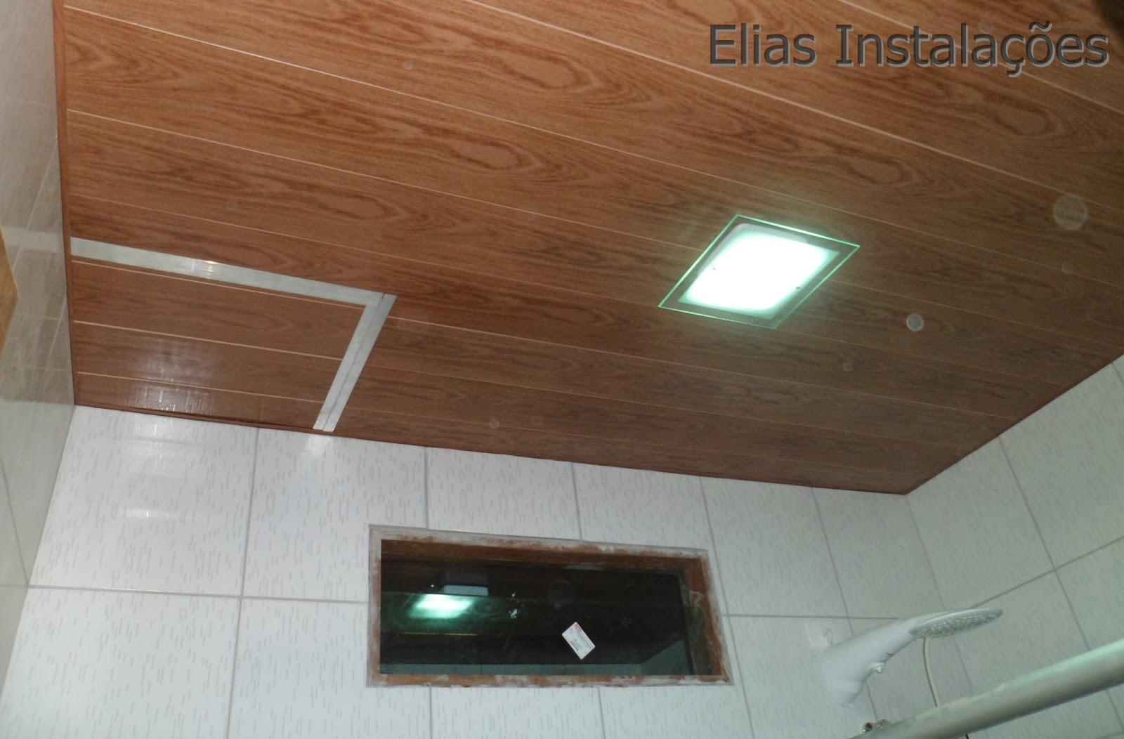 #6C4830 Elias Instalador: Tampa/ Abertura no forro de pvc que imita madeira 1870 Janela De Aluminio Que Imita Madeira