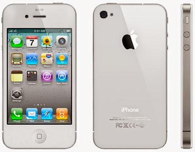 Handphone iPhone 4G - White