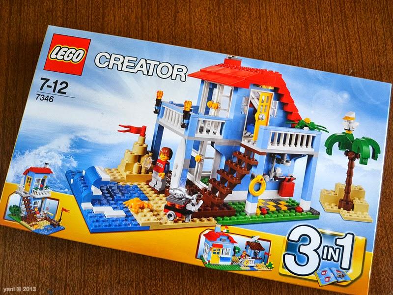 yaniism  lego  creator beach house