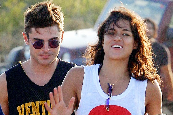 Zac Efron and Michelle Rodriguez broke up