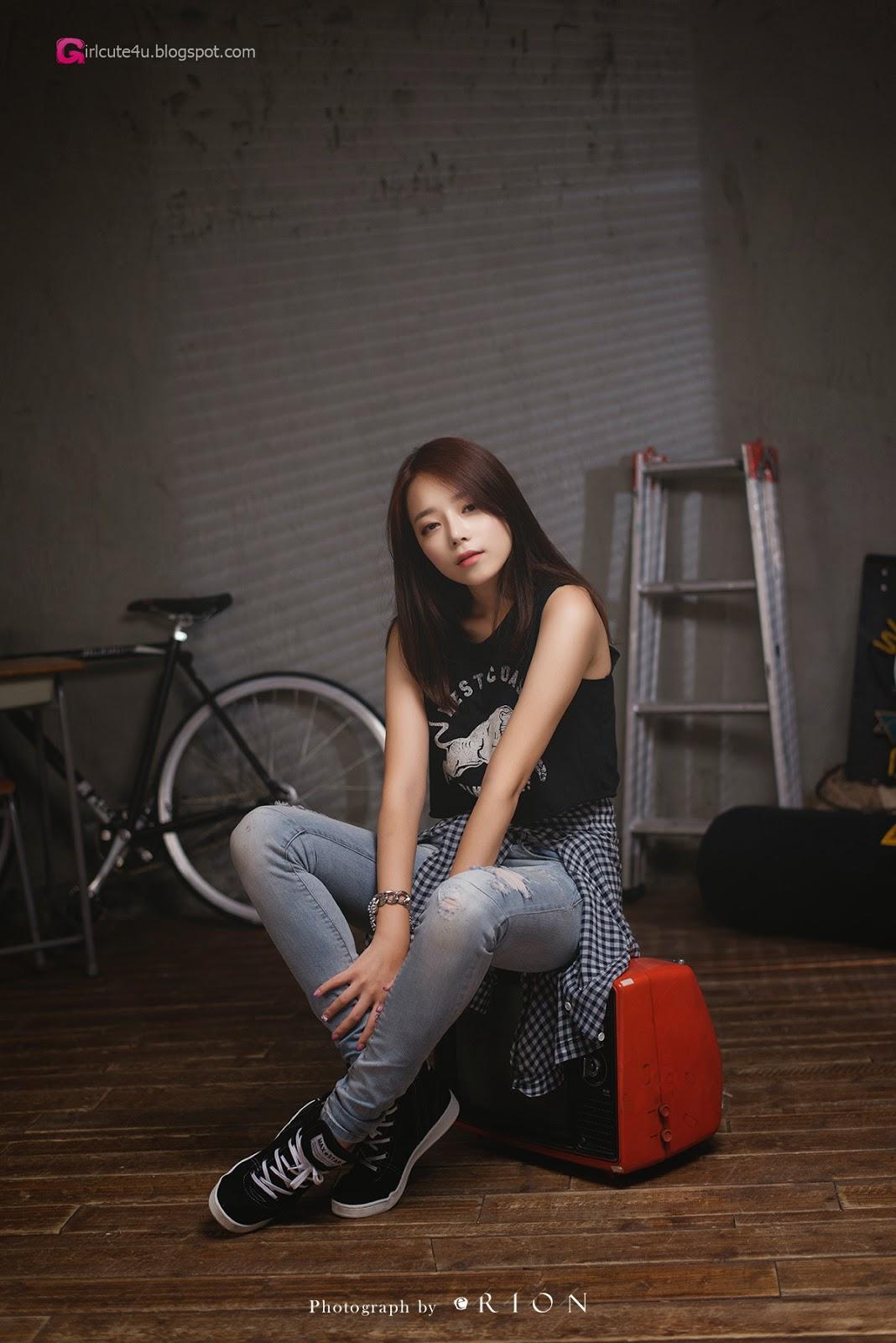 2 The wonderful Ji Yeon in 3 new sets - very cute asian girl - girlcute4u.blogspot.com