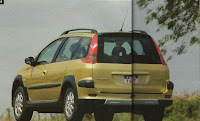 Peugeot 206 Escapade porton trasero