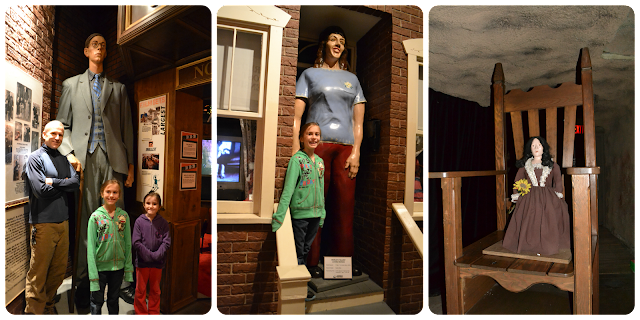 Guinness World Records Gatlinburg, Tallest Man, Tallest Woman, Smallest Woman
