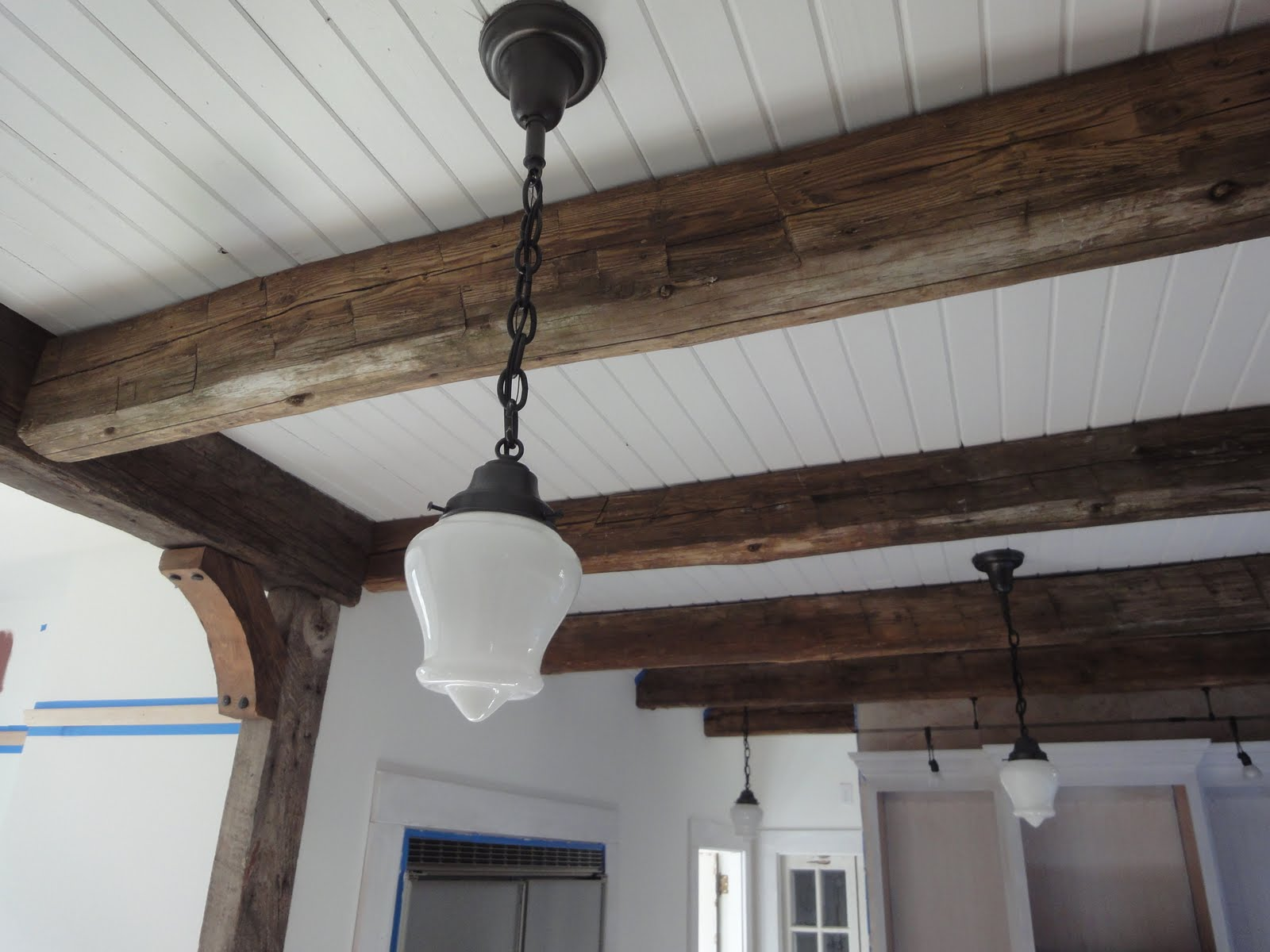 1900 Farmhouse Kitchen Lighting