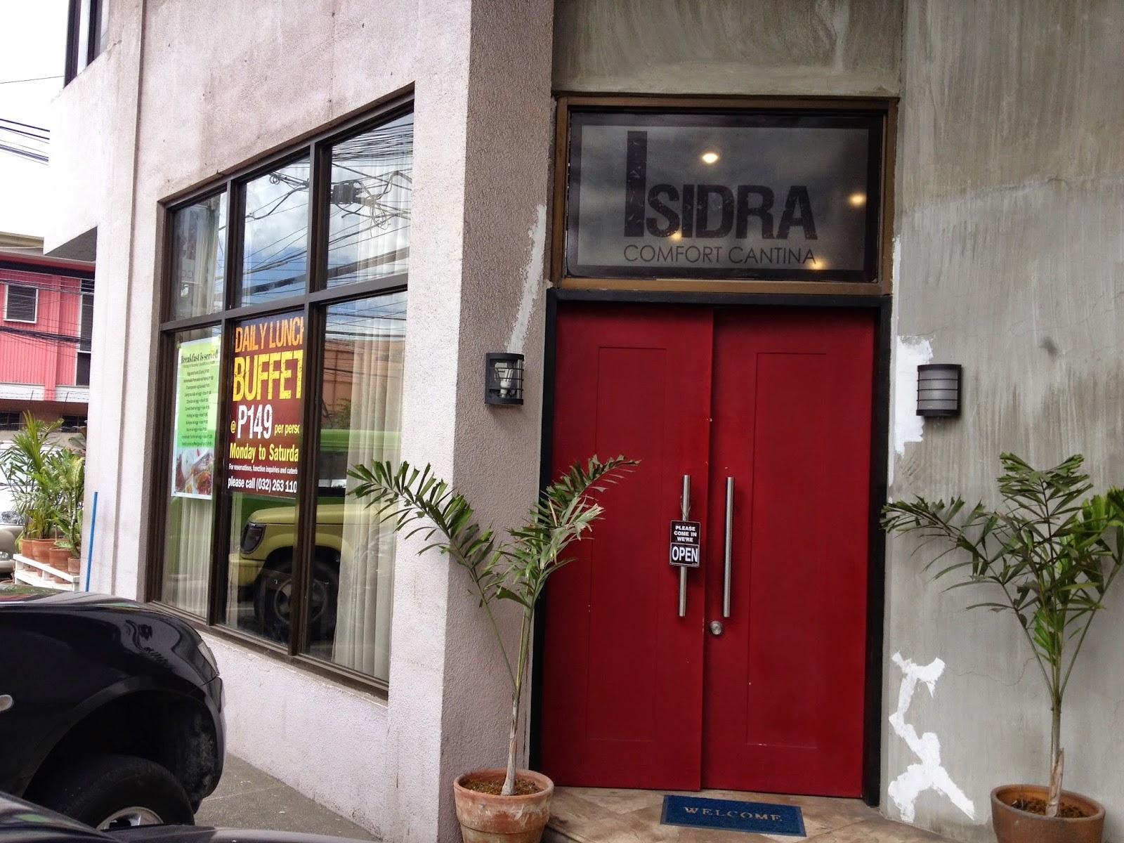 149 peso buffet at Isidra Comfort Cantina
