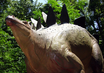 Stegosaurus at the Fernbank Museum of Natural History