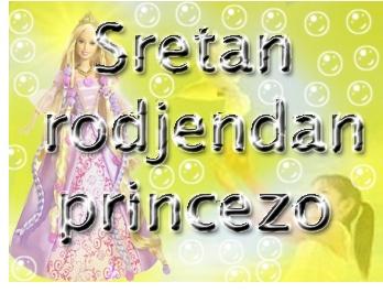 sretan rođendan princezo