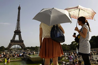 The Eiffel Tower has been rated Europe's most valuable monument.