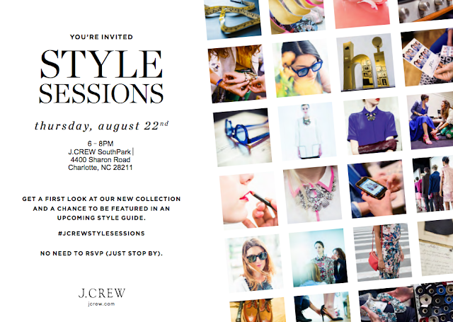 J. Crew Style Sessions Charlotte