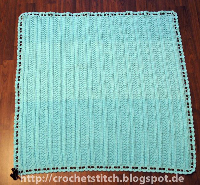 Crochet & Knitting Stitch: Babydecke \
