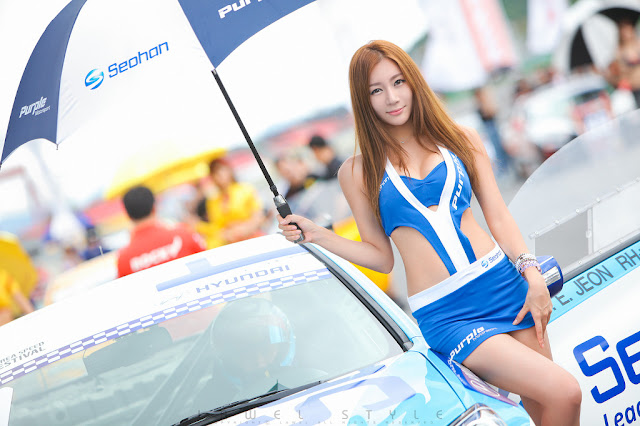 1 Han Ji Eun - Korea Speed Festival R3 2012-Very cute asian girl - girlcute4u.blogspot.com