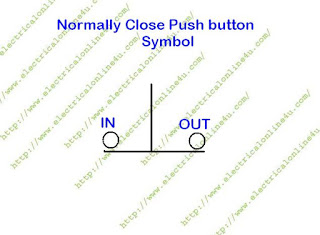 normal close switch symbol