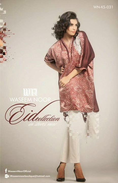 Waseem Noor Eid Collection 2014