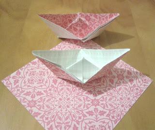barquito de papel, le petit paquebot