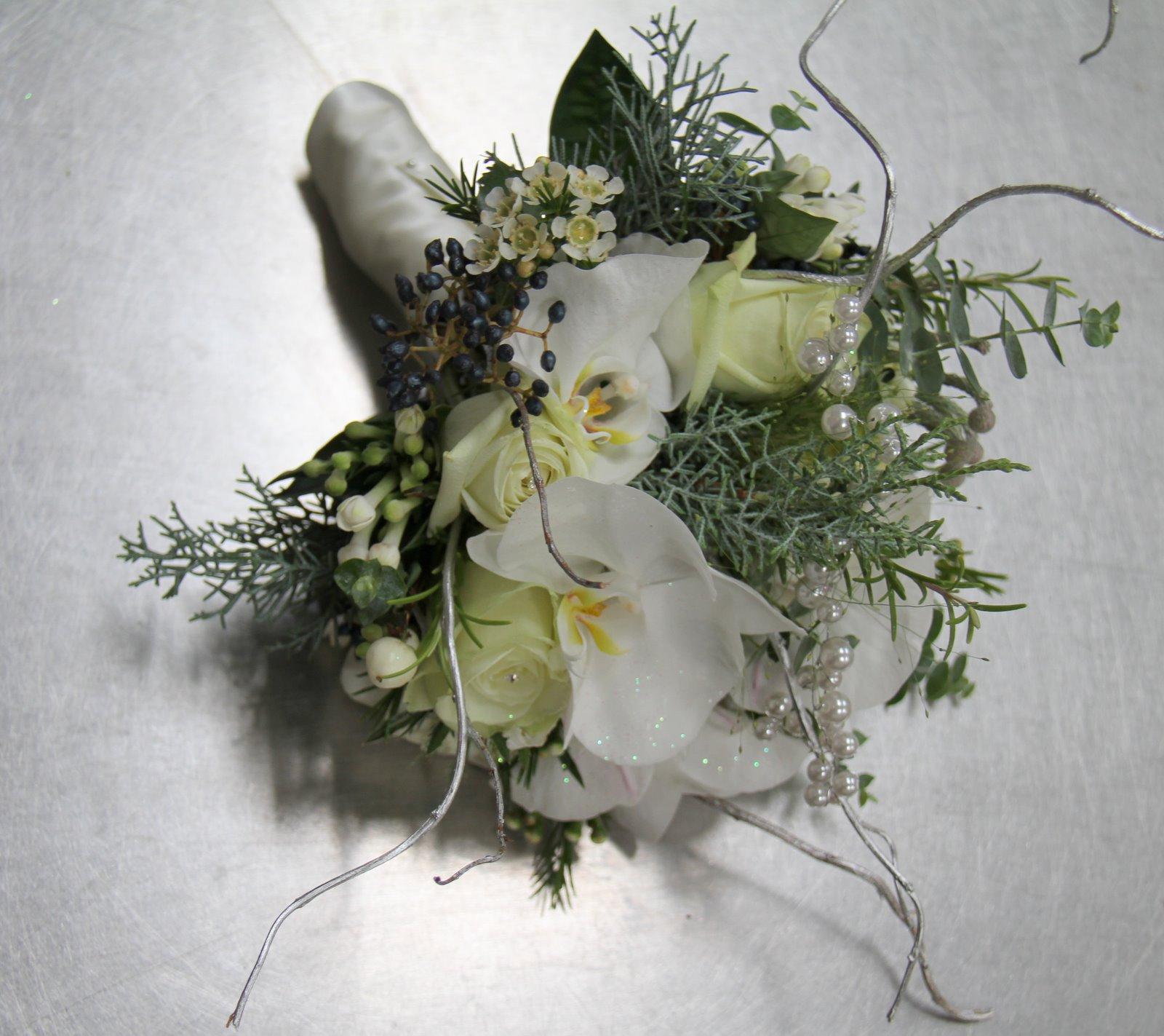 Winter Bouquet: The Flower Magician: Magical Winter Forest Wedding Bouquet