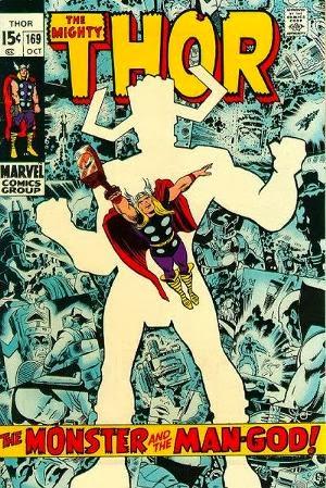 Thor #169 comic pic