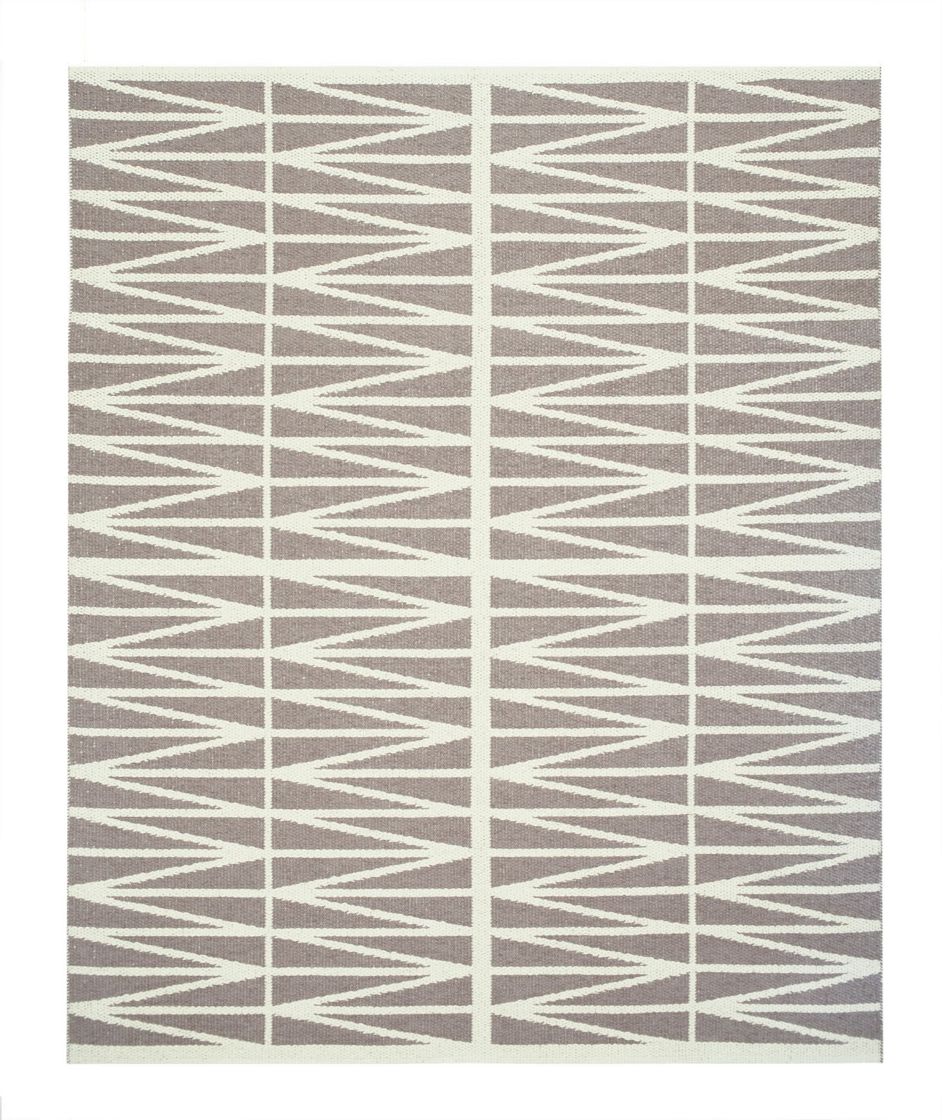 COCOCOZY NEW TO MARKET ZIG ZAG RUG FROM SWEDEN
