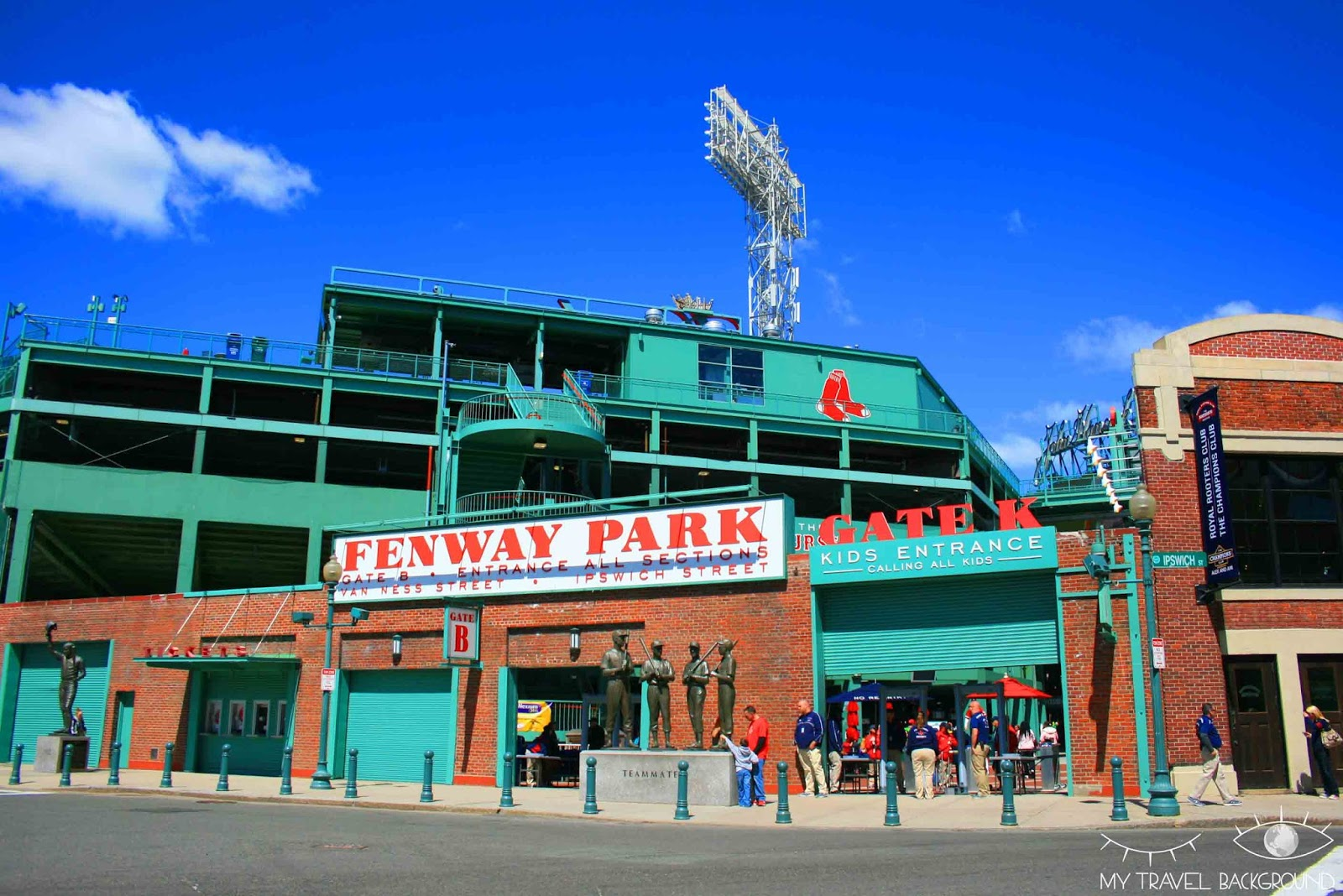 My Travel Background : le Fenway Park, le stade des Boston Red Sox