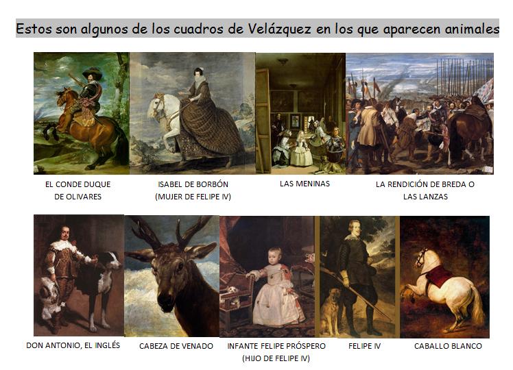 http://suite101.net/article/los-animales-en-la-obra-de-velazquez-a71059#.VTdjFvCM6wI