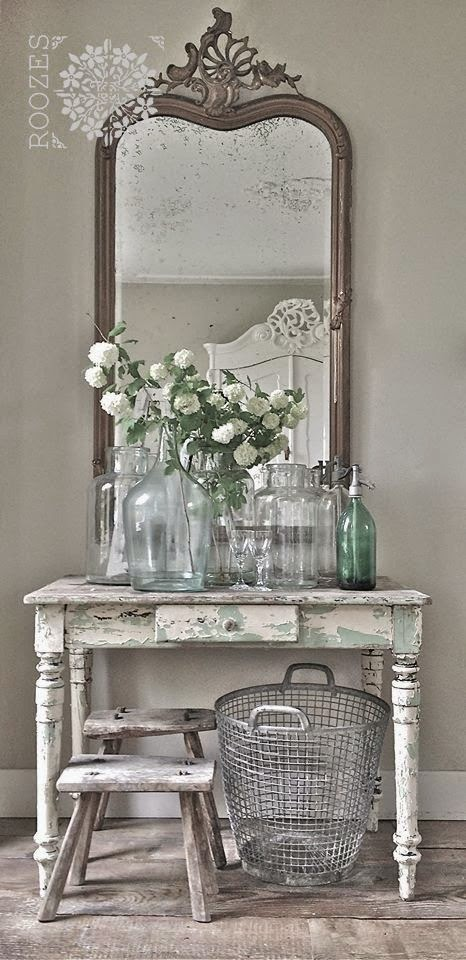 Tips de decoraci n de dormitorios vintage Southern home decor on pinterest