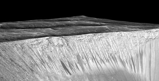 Misteri: Benarkah Air Ada di Mars?