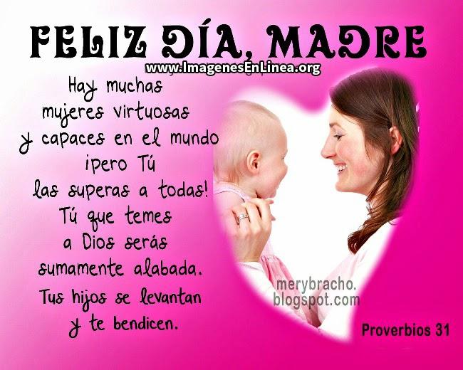 Feliz día de la madre: hay mujeres virtuosas y capaces en el mundo