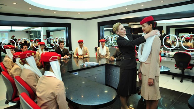 """CABIN CREW TRAINING: AN INSIDE LOOK AT THE """"EMIRATES FLIGHT ..."""