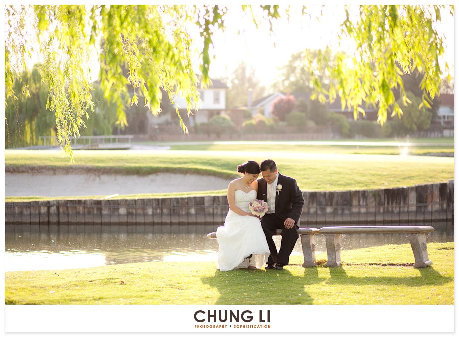 San Ramon Wedgewood Golf Course wedding