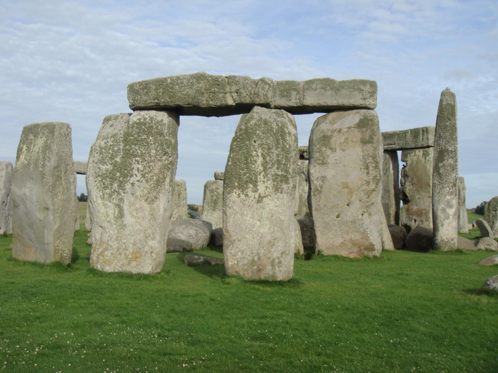 The effect axe head art at stonehenge