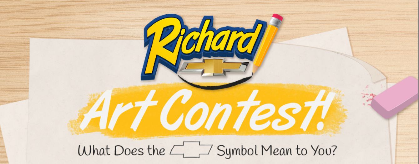 Enter The Richard Chevrolet Art Contest Now!