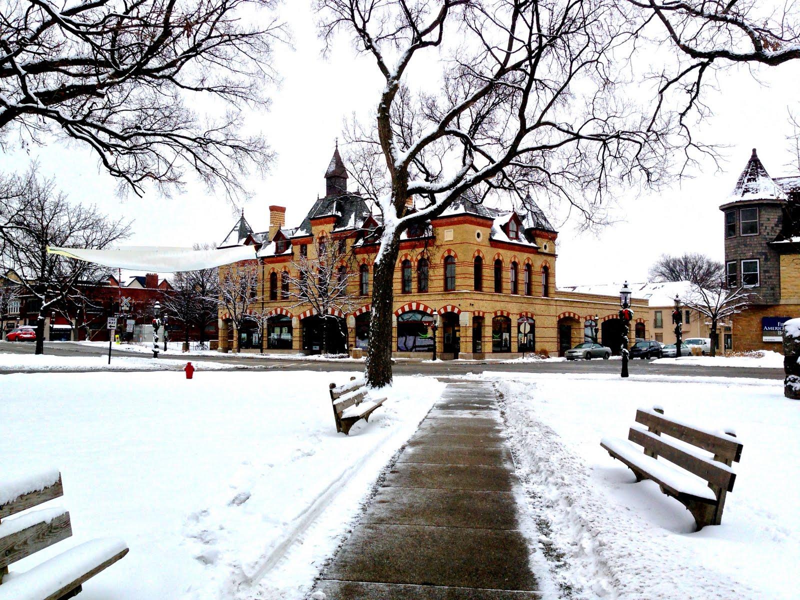 Riverside Illinois Christmastime In Riverside