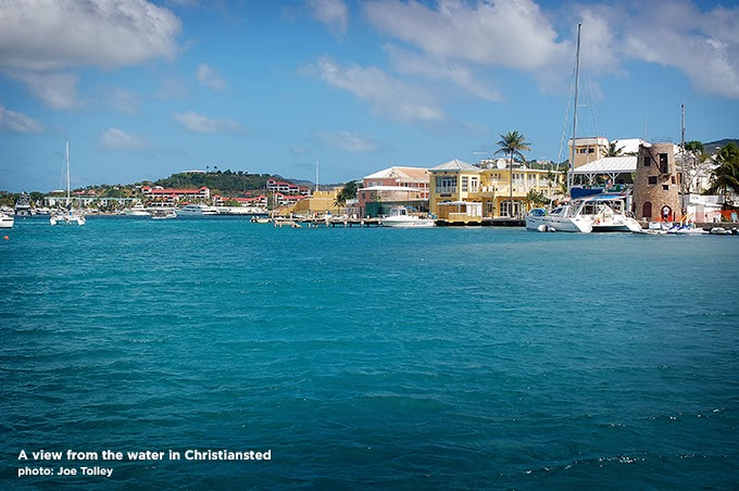 Christiansted Harbor, St. Croix. Photo Copyright Joe Tolley 2014 / TravelBoldly.com