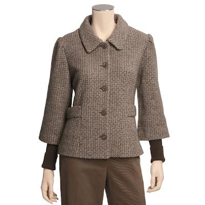 Kumpulan Desain Busana Tweed Untuk Wanita Kantor