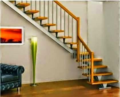desain dan gambar tangga rumah minimalis cantik terbaru