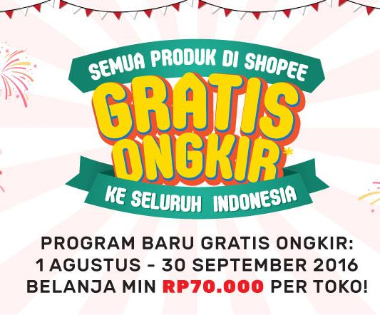 Free Ongkir Aug-Sept