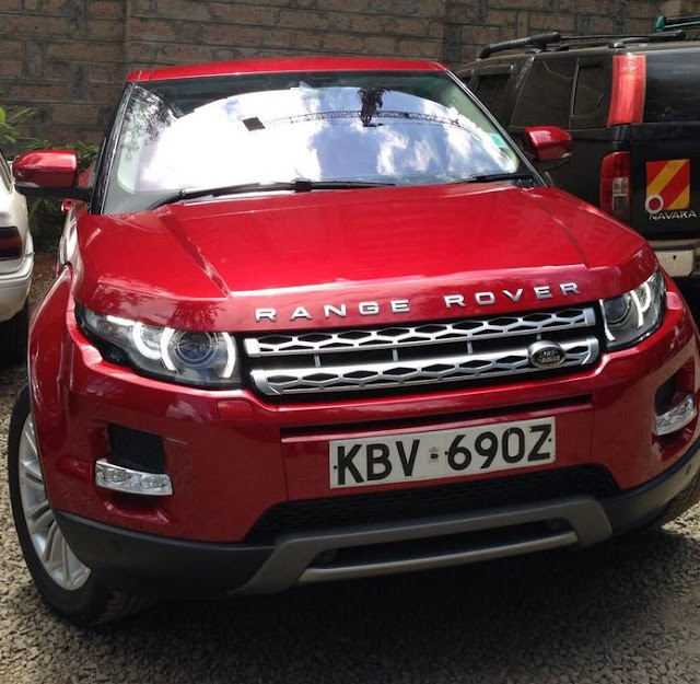 Larry Madowo Gets A Free Land Rover Freelander 2