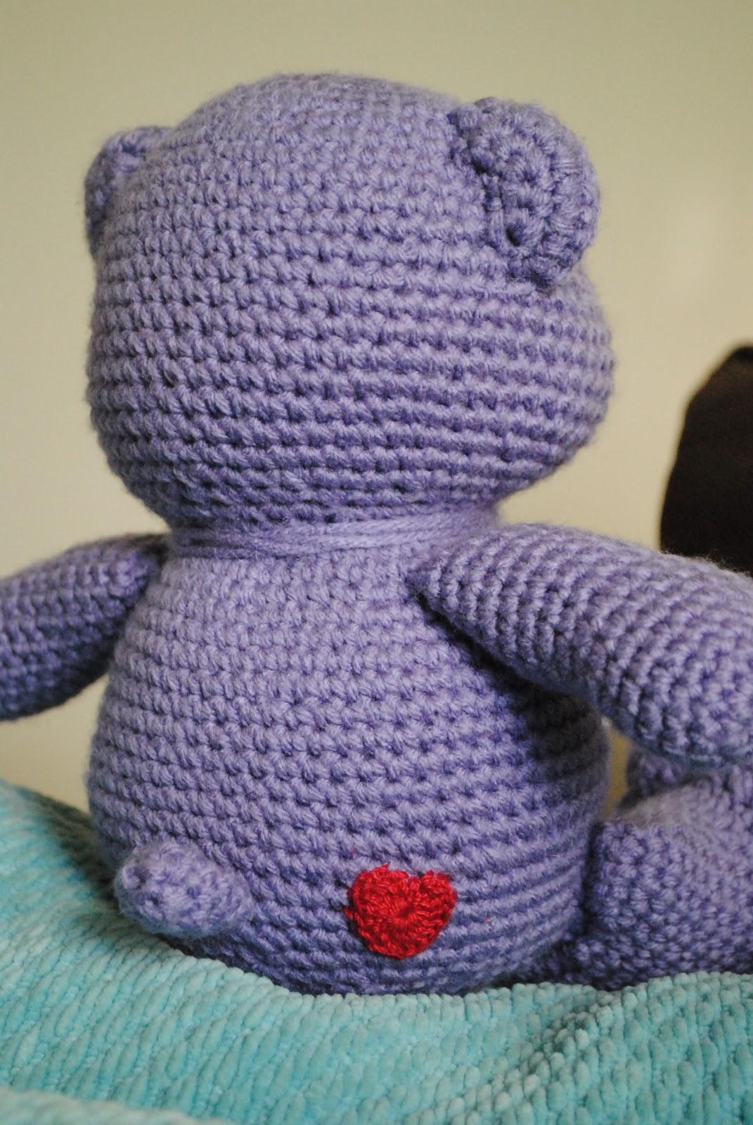 Care Bear Crochet on Pinterest Care Bears, Vintage ...
