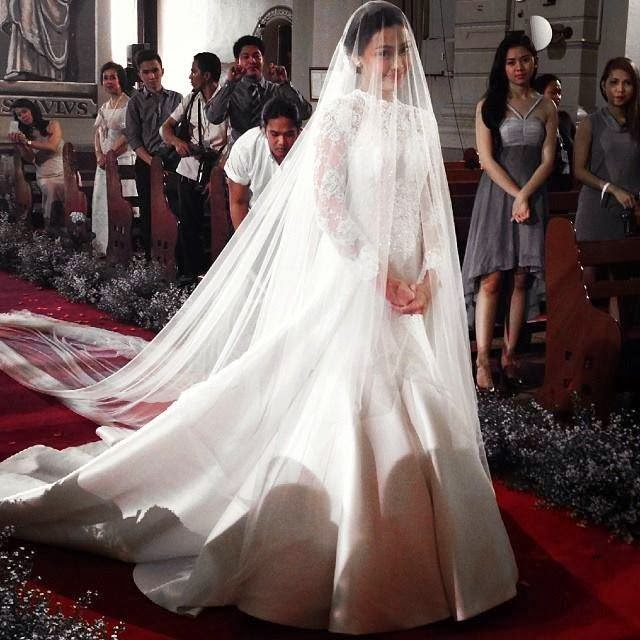 Wedding Dress Of Maya Dela Rosa On Be Careful With My Heart/page