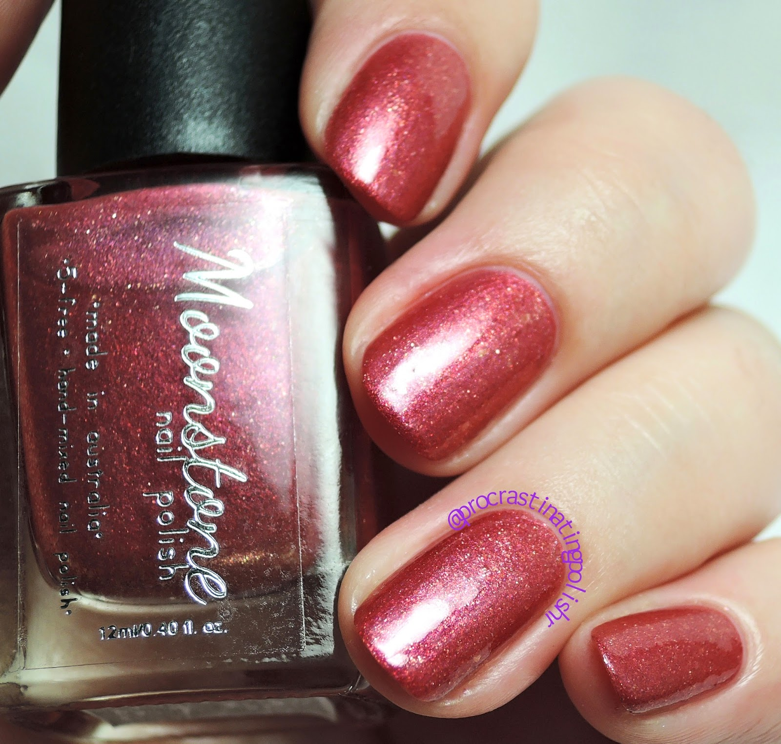 Moonstone Nail Polish - Ginevra | Wicked Witches collection