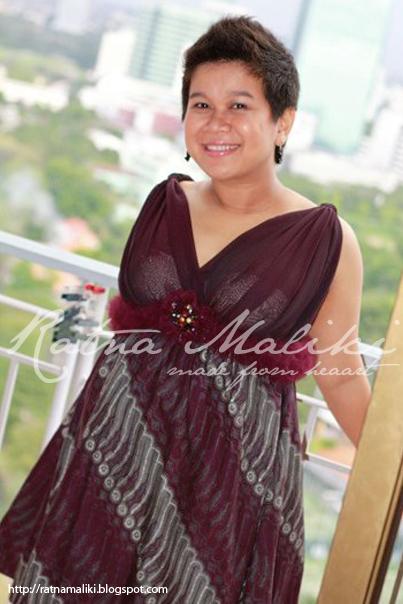 Foto Model Gaun Batik Untuk Ibu Hamil