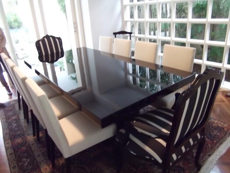 Sala De Jantar Usada Sp ~ Blog Decoração de Interiores Mesa com Cadeiras para Sala de Jantar