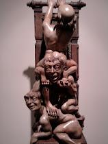 Norberto Gomez escultor Argentino