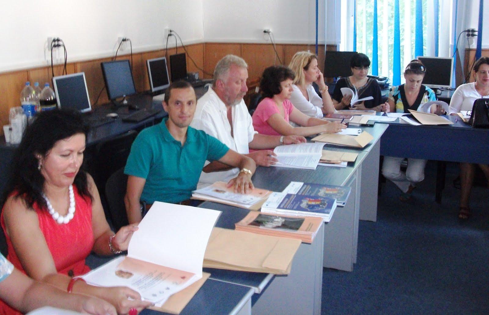 Aspecte de la cursurile de Istorie Recentă a României, CCD Neamţ, 1-6 septembrie 2015...