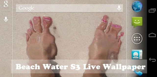 Beach Water S3 Live Wallpaper v1.6.1 APK